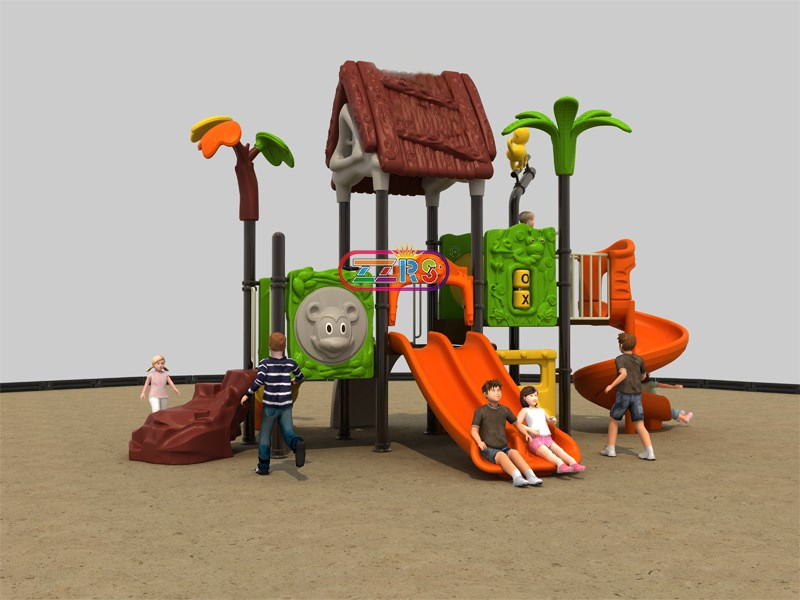 <b>F039-1 <br> 590*400*380cm<br> Jungle Playground Small Size